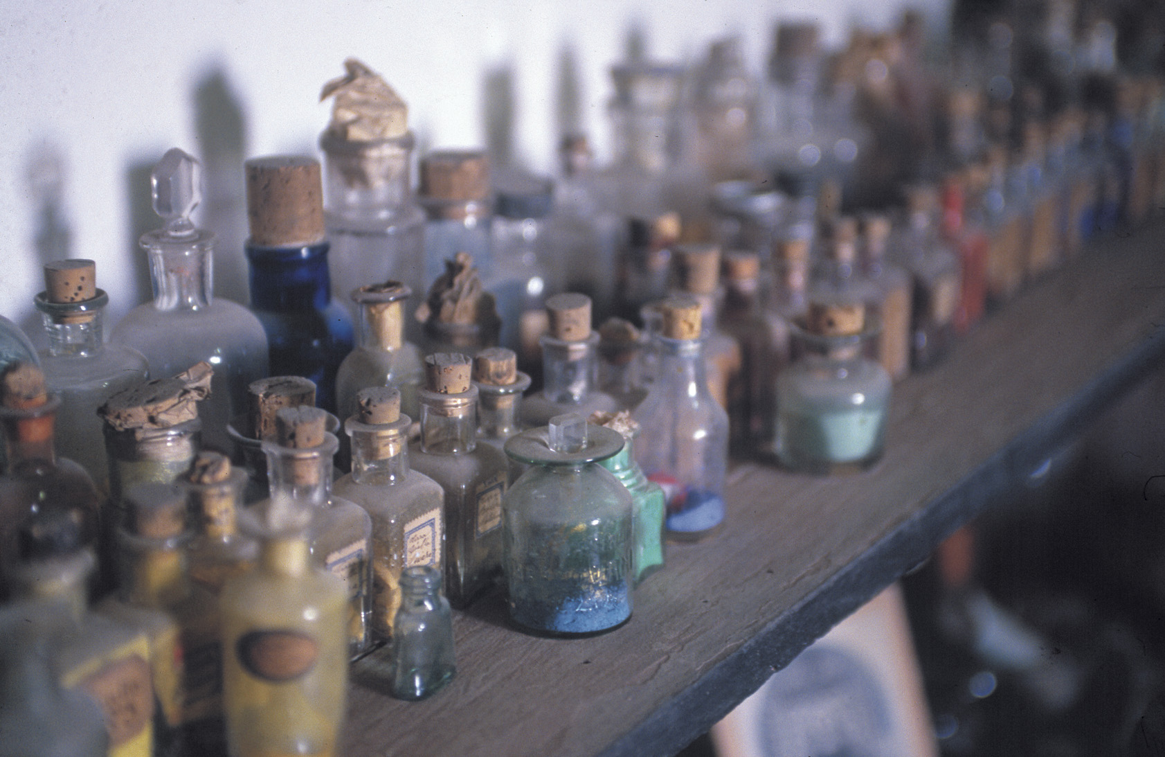 Polveri colorate per la fusione su vetro - foto Michele Panduri