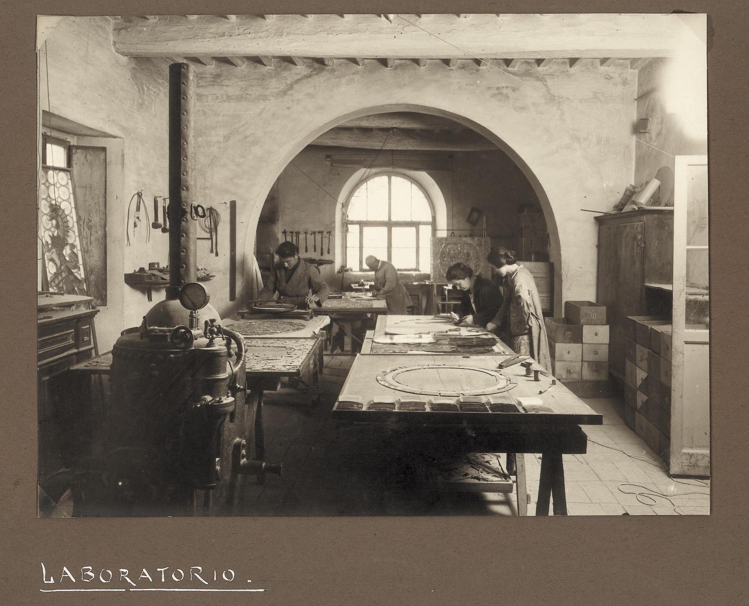 Laboratorio dello studio - archivio SMC