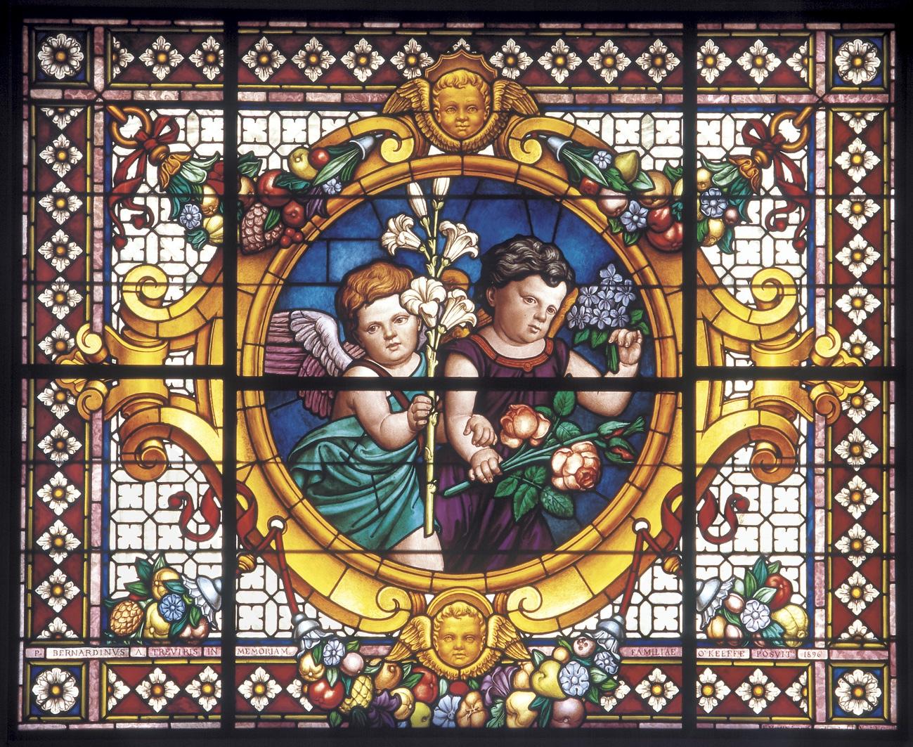 Vetrata della Basilica di Santa Maria degli Angeli - foto Michele Panduri